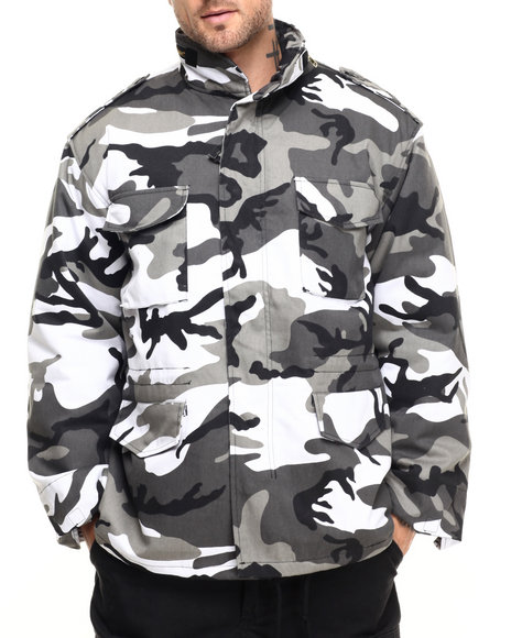 Rothco - Men City Camo Rothco M-65 Camo Field Jacket