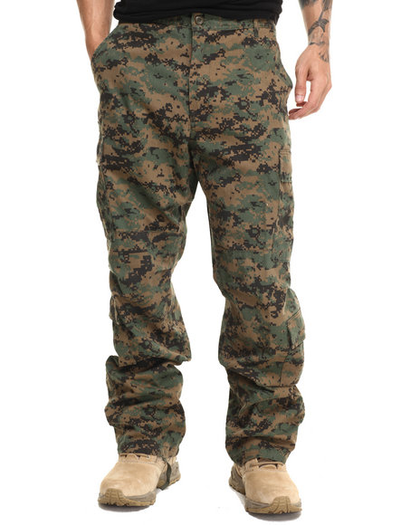 Rothco - Men Woodland Digital Camo Rothco Vintage Camo Paratrooper Fatigue Pants