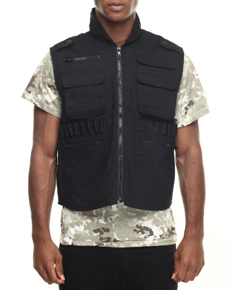 Rothco - Men Black Rothco Ranger Vests