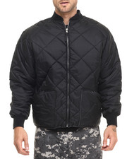 Outerwear - Rothco Diamond Nylon Quilted Flight Jacket