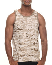 DRJ Army/Navy Shop - Rothco Camo Tank Top