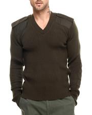 DRJ Army/Navy Shop - Rothco G.I. Style Acrylic V-Neck Sweater