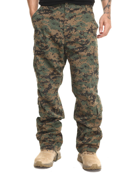 Rothco - Men Acu Digital Camo Rothco Vintage Camo Paratrooper Fatigue Pants