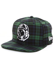Billionaire Boys Club - Plaid SPACE MAN SNAPBACK HAT