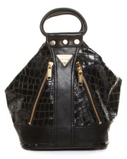 Handbags - CROCODILE PU 2WAY SHOULDER BAG