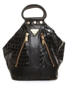 Crossbody - CROCODILE PU 2WAY SHOULDER BAG