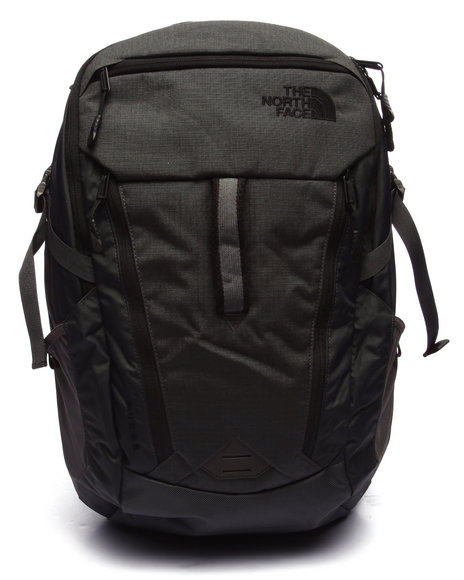 The North Face - Men Black,Grey Surge Backpack