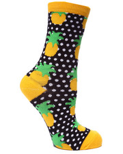 Girls - Dottie Fruits 6Pk Crew Socks