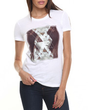 Tops - Abstract Print Tee