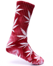 Men - Tie Dyed Plantlife Crew Socks