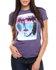 Tops - Read Between The Lines Graphic Tee