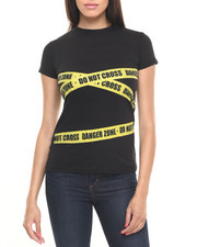 Tops - Do Not Cross Graphic Tee