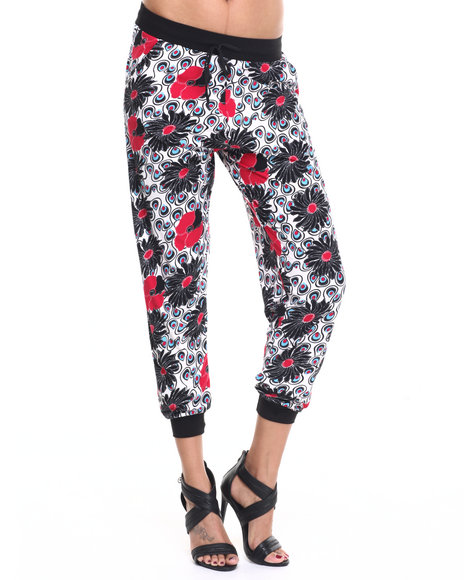 Fashion Lab - Women Multi Daphni Knit Jogger