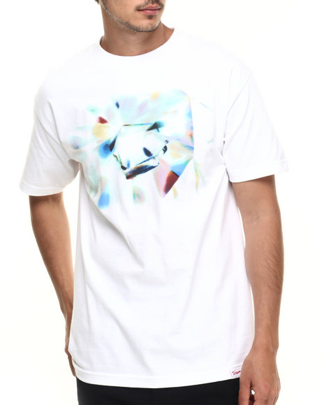 Diamond Supply Co - Men White Diamond Inclusion Tee
