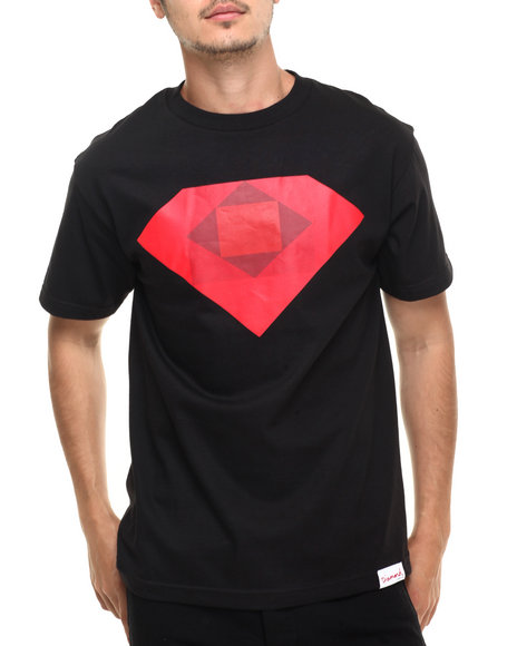 Diamond Supply Co - Men Black Rotoscope Tee - $25.99
