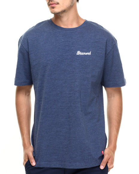 Diamond Supply Co - Men Navy City Script Tee