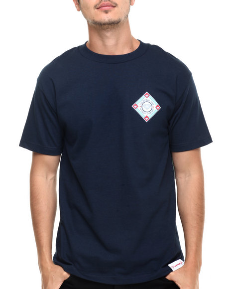 Diamond Supply Co - Men Navy Diamond League Tee