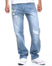 Buyers Picks - Light Blue Wash Distressed Denim