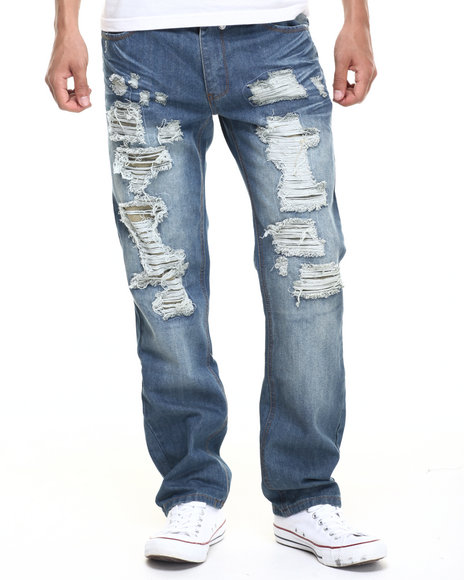 Buyers Picks - Men Medium Wash Thraser Jean