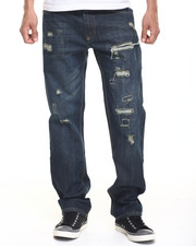 Jeans & Pants - Dark Rip and Repair Jean