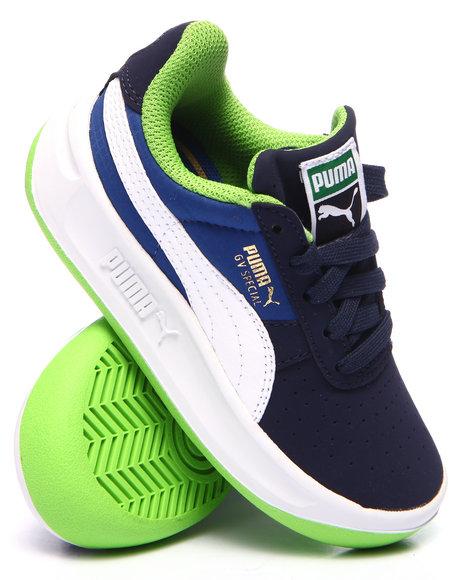Puma - Boys Navy Gv Special Nubuck/Ripstop Jr Sneakers (11-7)