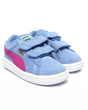 Footwear - Suede Kids Sneakers (5-10)