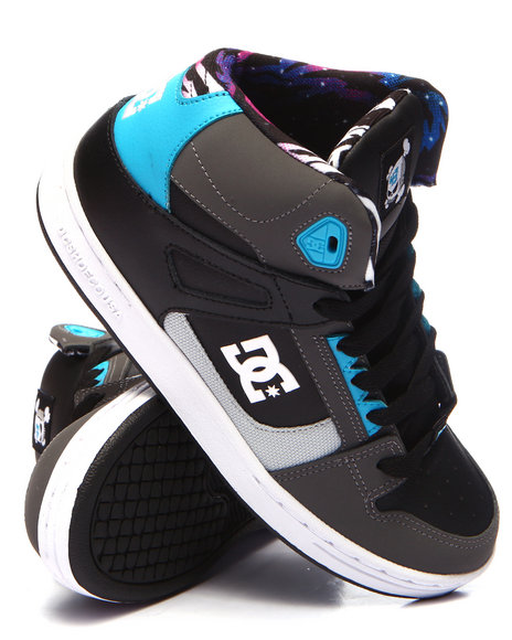 Dc Shoes - Boys Grey Rebound Kb (4-7)