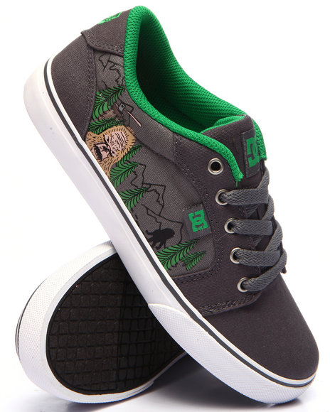 Dc Shoes - Boys Grey Anvil Tx Se (5-7 Youth)
