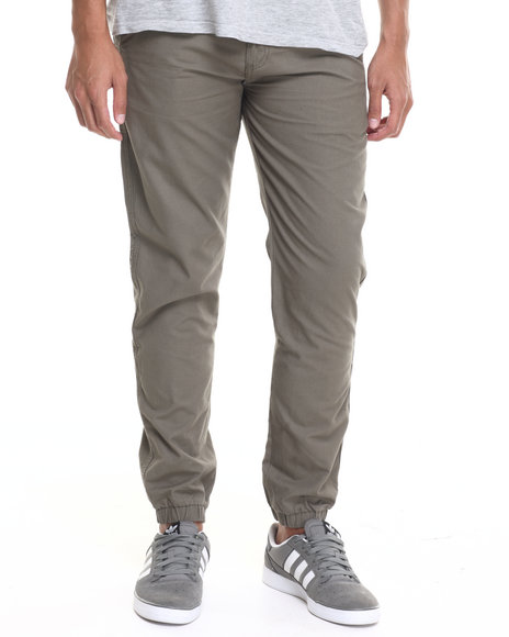 Zoo York - Men Olive Z Y Micro Rip - Stop Twill Jogger