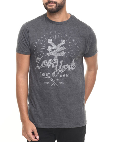 Zoo York - Men Black True East S/S Tee