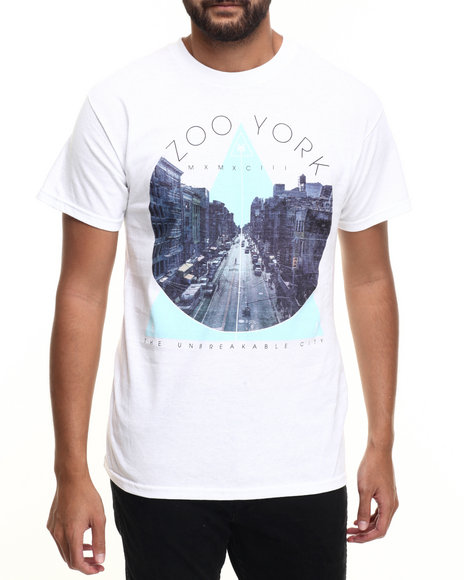 Zoo York White T-Shirts