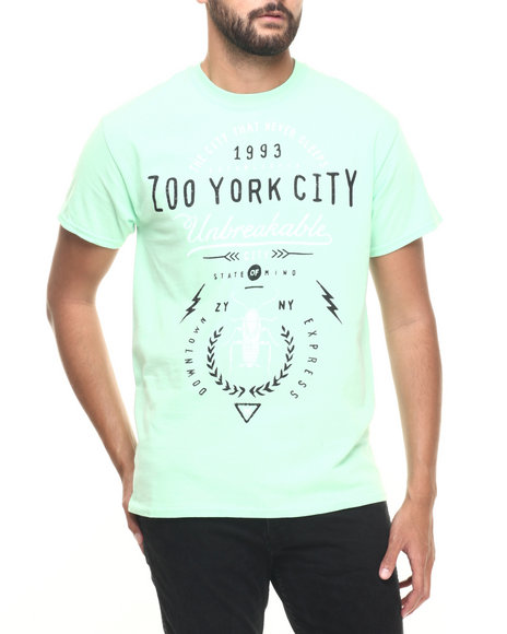 Zoo York - Men Green Z Y Unbreakable S/S Tee