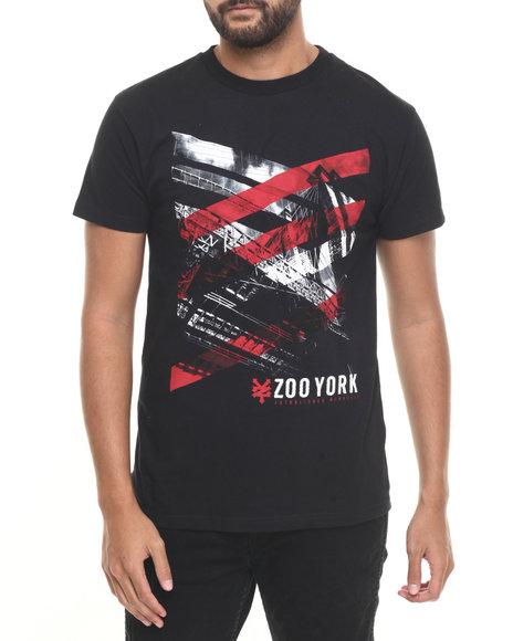 Zoo York - Men Black Slasher S/S Tee