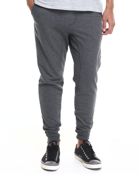 Akademiks - Men Charcoal Flatland Jogger Sweatpants - $32.00