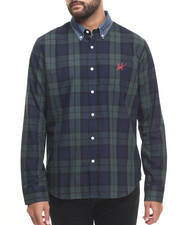 Men - Classic Plaid L/S Button-down