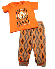 Sets - 2 PC SET - AZTEC POCKET TEE & JOGGERS (INFANT)