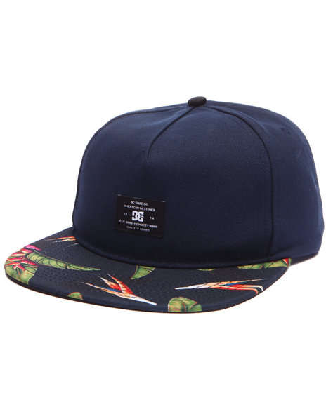 Dc Shoes Navy Snapback