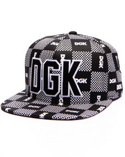 DGK - Checkers Snapback Cap