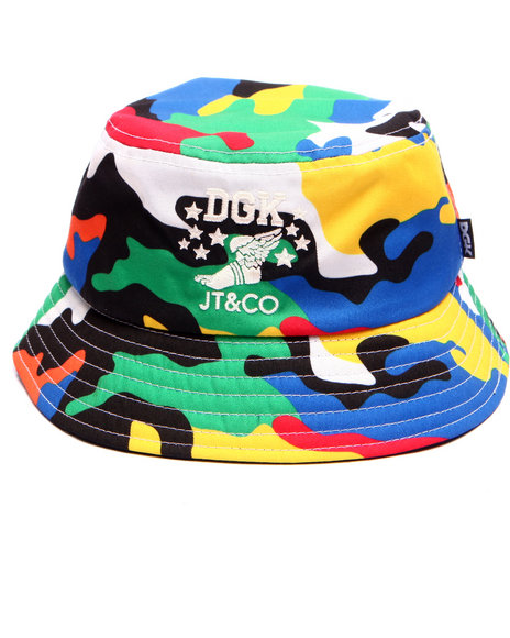 Dgk Men Dgk X Jt&Co Timeless Bucket Hat Multi - $24.99