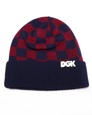 Men - Checkers Beanie
