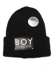 Beanie - BOY LONDON PATCH BEANIE