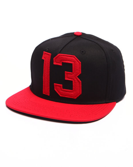Asphalt Yacht Club - Men Black,Red Est Snapback Cap