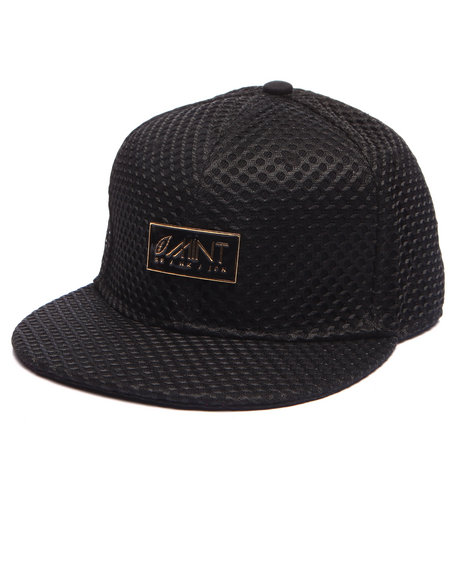 Mint Men Fastlife Mesh Snapback Hat Black