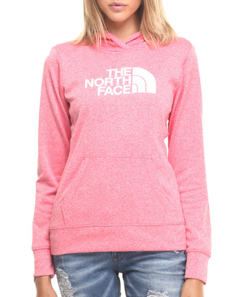 The North Face - Women Red Women's Fave Pullover Hoodie