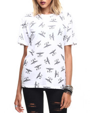 Tops - ALL OVER EAGLE TEE
