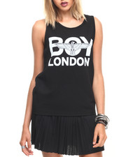 Tops - BOY LONDON EAGLE MESH TANK