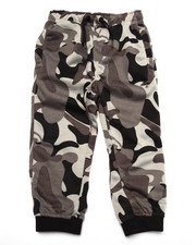 Boys - TREE TRACKER CAMO FLEECE PANT (2T-4T)