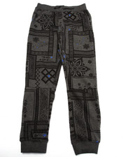 Bottoms - BANDANA JOGGERS (8-20)