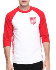 Shirts - Crest 3/4 Raglan Tee
