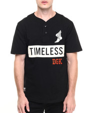 Men - DGK x JT&CO Timeless Custom Henley Knit Tee